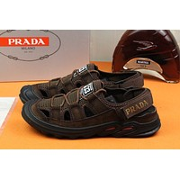 prada men fashion boots fashionable casual leather breathable sneakers running shoes 26