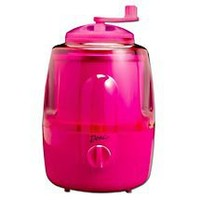Deni Automatic Ice Cream Maker with Ice Crusher, Raspberry