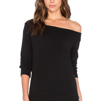 SOLOW Oversized Pullover in Black