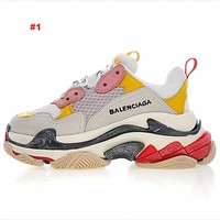 Balenciaga Home sneakers Designer Luxury Men's Dad Retro TrainersShoes Sneakers Paris Brand Breathable Shoes With Box