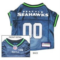 DCCKT9W Seattle Seahawks Dog Jersey