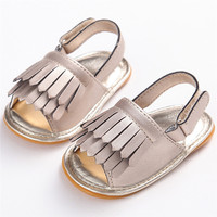 Summer Sandals Crib Shoes Tassels