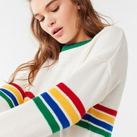 UO Bailey Rainbow Striped Sweater | Urban Outfitters