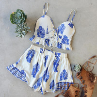 Moon Palace Romper Set