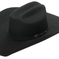 Twister 2X Wool Felt Western Cowboy Hat Black T7525001