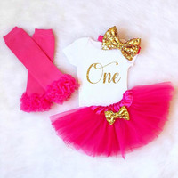 First Birthday Outfit Girl, 1st birthday outfit, First Birthday Shirt 1st Birthday Tutu Set Baby Girl Shirt Tutu cake smash birthday outfit