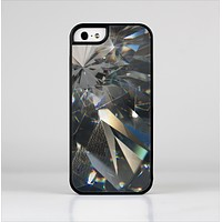 The Abstract Shattered Crystal Pattern Skin-Sert for the Apple iPhone 5-5s Skin-Sert Case