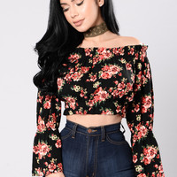 Exactly What You Asked For Top - Floral