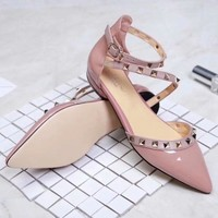 Valentino Women Fashion Casual High Heels Shoes Sandals Shoes-3