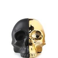 split skull bookends