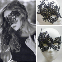 Eye Mask Sexy Lace Masquerade Ball Halloween Party Fancy Dress Costume