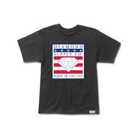 Made In The USA Tee in Black