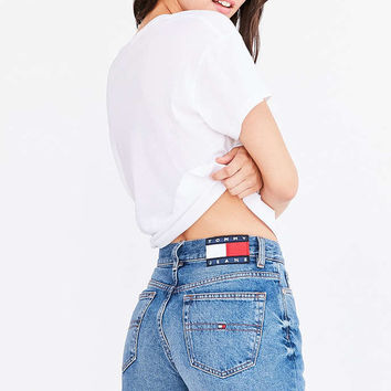 Tommy Jeans For UO '90s Mid-Rise Mom Jean - Urban Outfitters