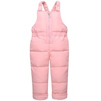 Winter Children Clothing Baby Ski Suit Parka Down Jacket + Overalls Girls Clothes Sets Thick Warm Kids Outerwear