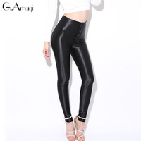 2016 New Fashion Women's skinny Disco Pants Women High Waisted fashion sexy Lady Trousers pants Plus Size #GRP004