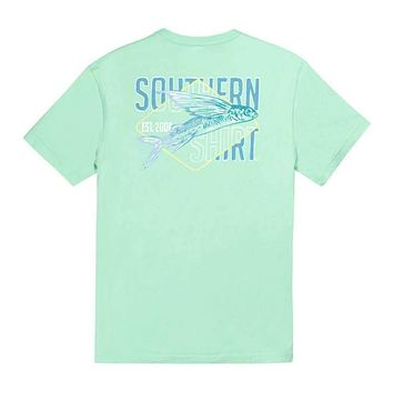 Taking Flight in Ocean Wave by The Southern Shirt Co..