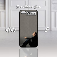 Armin van Buuren A State Of Trance, Design For iPhone 4/4s Case or iPhone 5 Case - Black or White (Option)