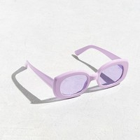 Chunky Squared Oval Sunglasses | Urban Outfitters