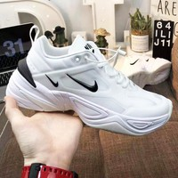 Nike M2K Tekno Clasic Popular Men Women Leisure Sport Running Shoes Sneakers White