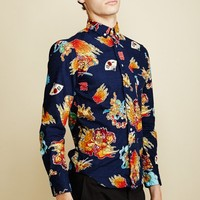 GITMAN BROTHERS X OPENING CEREMONY THUNDER GOD LONG-SLEEVE BUTTON-DOWN - MEN - JUST IN - GITMAN BROTHERS X OPENING CEREMONY