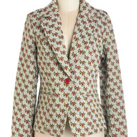 Tulle Clothing Mid-length Long Sleeve Overflowing with Flair Blazer