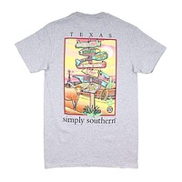 States Texas Tee by Simply Southern