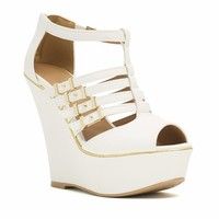 Slither Along Reptile Platform Wedges - GoJane.com