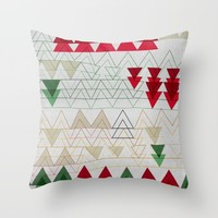 xmas n3 Throw Pillow by SpinL