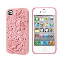 Amazon.com: SwitchEasy SW-BLO4S-P Avant-garde Hard Case for iPhone 4 & 4S - 1 Pack - Case - Retail Packaging - Blossom - Pink: Cell Phones & Accessories