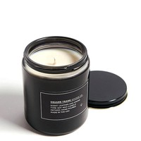 Leather & Smoke Scented Soy Candle (8oz)