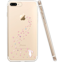 ESR Cute Cartoon Clear Soft Case Ultra Thin Light Weight Protective Cover for 5.5 inch iPhone7 Plus