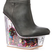 Jeffrey Campbell The Icy Star Platform in Black : Karmaloop.com - Global Concrete Culture
