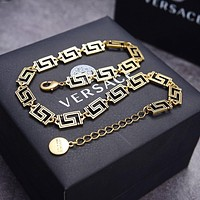 Versace Woman Fashion Accessories Fine Jewelry Ring & Chain Necklace & Earrings Newest Popular Women Delicate
