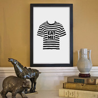 Pugsley Addams Quote Poster - 11x17 Typographic Illustration Inspired by the Addams Family