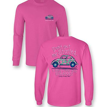 Sassy Frass I Don't Come with Brakes Long Sleeve T-Shirt