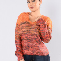 Fun Size Sweater - Orange