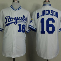 Bo Jackson Jersey - #16 Kansas City Royals