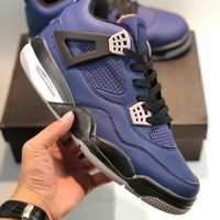 NIKE AIR JORDAN 4 AJ4 SPACE JAM  AJ4 cheap Men's and women's nike shoes