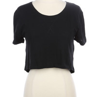 Boxy Crop Top (more colors)