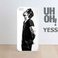 harry style black customized for iphone 4/4s/5/5/5c, samsung galaxy s3/s4/s5 and ipod 4/5 case