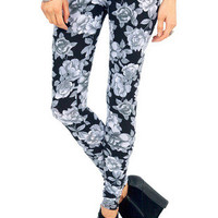 Floral Emphasis Leggings $16