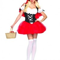 Racy Red Riding Hood Costume - Storybook Costume - Costumes