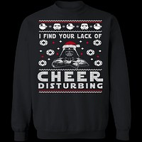 Lack Of Cheer Ugly Christmas Sweater