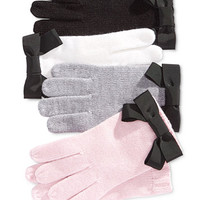 kate spade new york Grosgrain Bow Gloves | macys.com