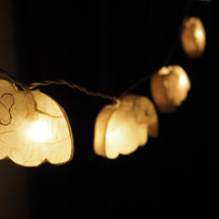 SALE Super Cute Elephant Fairy String Light - 20 Elephant Lights Fairy lights Party Decor Wedding Garden Spa and Holiday Lighting