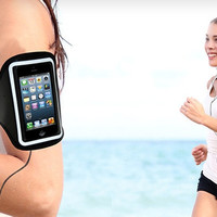Smartphone Armband for iPhone 5/6/6+ And Headphones Kit