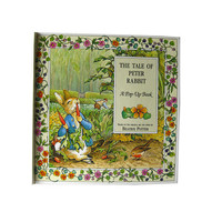 The Tale Of Peter Rabbit Pop Up Book - Beatrix Potter - Vintage Popup Book - Pop Up Childrens Book