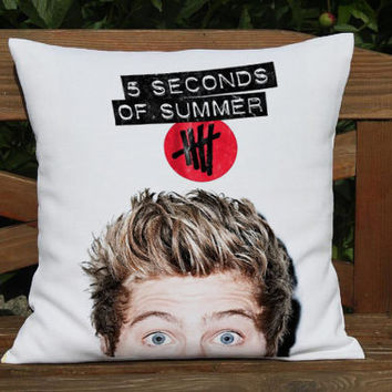 luke hemmings 5SOS 5 seconds of summer quotes pillow cover case one side - two side