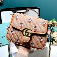 GUCCI x DISNEY Joint Chain Bag Shoulder Bag Crossbody Bag