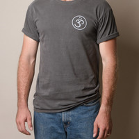 Vintage Wash Om Tee - Small Only